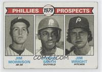Phillies Prospects (Jim Morrison, Lonnie Smith, Jim Wright) [Goodto…