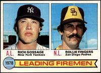 Leading Firemen (Rich Gossage, Rollie Fingers) [NMMT]