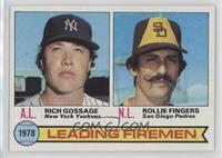 Leading Firemen (Rich Gossage, Rollie Fingers)
