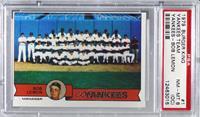 New York Yankees Team, Bob Lemon [PSA8NM‑MT(OC)]