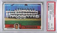 New York Yankees Team, Bob Lemon [PSA8NM‑MT]