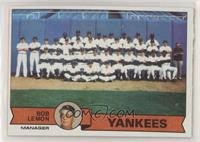 New York Yankees Team, Bob Lemon [NoneGoodtoVG‑EX]