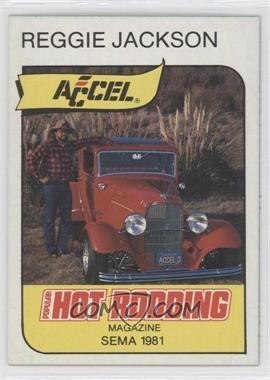 1980-81 Popular Hot Rodding & Super Chevy Magazines Reggie Jackson - [Base] #3 - Reggie Jackson