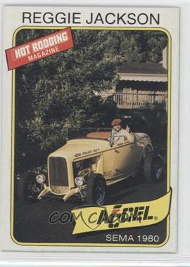 1980-81 Popular Hot Rodding & Super Chevy Magazines Reggie Jackson - [Base] #N/A - Reggie Jackson