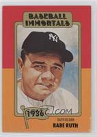 Babe Ruth (No MLB Logo)