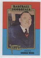 George Weiss (No MLB Logo)