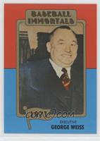 George Weiss (MLB Logo)