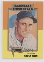 Chuck Klein (No MLB Logo)