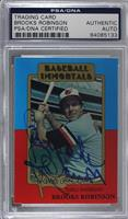 Brooks Robinson (MLB Logo) [PSA/DNA Certified Encased]