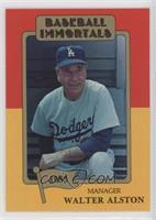 Walter Alston (MLB Logo)