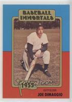 Joe DiMaggio (No MLB Logo)