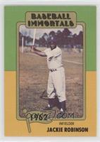 Jackie Robinson (No MLB Logo)