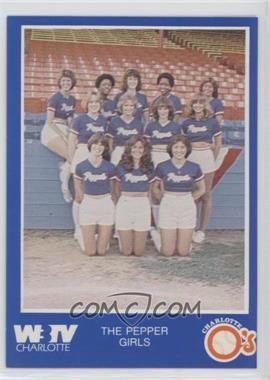 1980 Charlotte O's Blue Border - [Base] #PEGI - The Pepper Girls