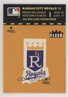 Detroit Tigers vs Cincinnati Reds (Kansas City Royal Back)