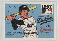 Brooklyn Dodgers vs. New York Yankees (Johnny Lindell)