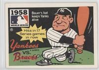 New York Yankees Team, Hank Bauer [GoodtoVG‑EX]
