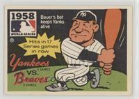 New York Yankees Team, Hank Bauer
