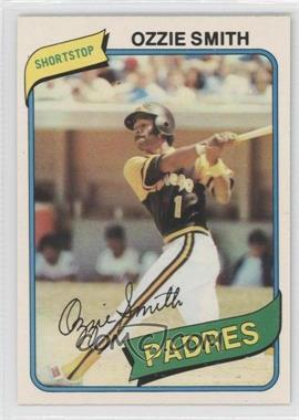 1980 O-Pee-Chee - [Base] #205 - Ozzie Smith