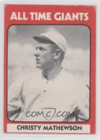 Christy Mathewson (Black Back)