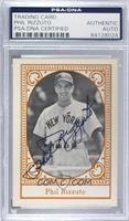 Phil Rizzuto [PSA/DNA Certified Encased]