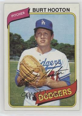 1980 Topps - [Base] #170 - Burt Hooton