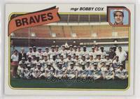 Atlanta Braves Team Checklist (mgr Bobby Cox)
