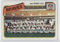 Atlanta Braves Team Checklist (mgr Bobby Cox) [PoortoFair]