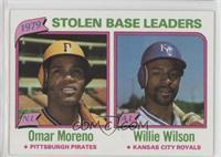 Omar Moreno, Willie Wilson