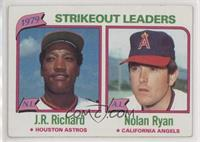 J.R. Richard, Nolan Ryan [EX to NM]