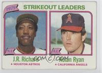 J.R. Richard, Nolan Ryan [Good to VG‑EX]