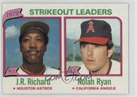 J.R. Richard, Nolan Ryan