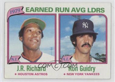 1980 Topps - [Base] #207 - J.R. Richard, Ron Guidry