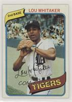 Lou Whitaker [Altered]