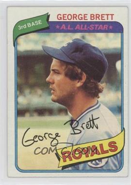 1980 Topps - [Base] #450 - George Brett