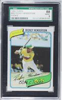 Rickey Henderson [SGC 88 NM/MT 8]
