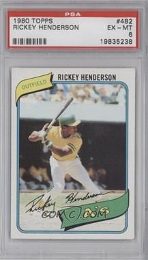 1980 Topps - [Base] #482 - Rickey Henderson [PSA6]