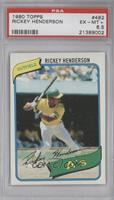 Rickey Henderson [PSA6.5]