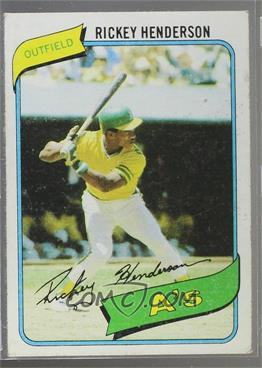 1980 Topps - [Base] #482 - Rickey Henderson [Good to VG‑EX]