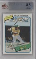Rickey Henderson [BVG 8.5 NM‑MT+]