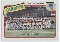 Checklist, San Francisco Giants [GoodtoVG‑EX]