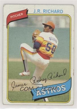 1980 Topps - [Base] #50 - J.R. Richard [PoortoFair]