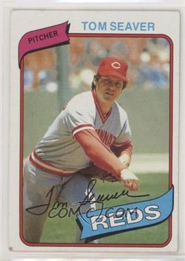 1980 Topps - [Base] #500 - Tom Seaver [PoortoFair]