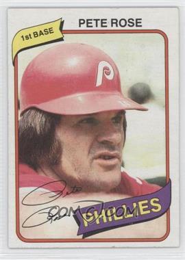 1980 Topps - [Base] #540 - Pete Rose