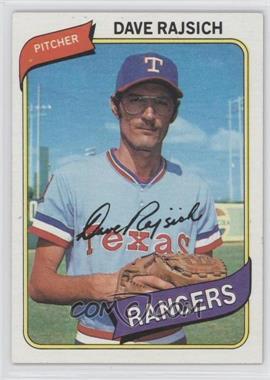 1980 Topps - [Base] #548 - Dave Rajsich