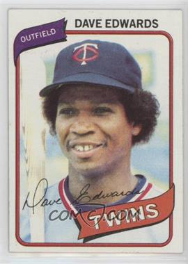 1980 Topps - [Base] #657 - Dave Edwards