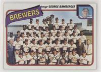 Milwaukee Brewers Team (George Bamberger)