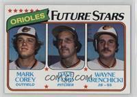 Mark Corey, Dave Ford, Wayne Krenchicki