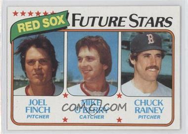 1980 Topps - [Base] #662 - Joel Finch, Mike O'Berry, Chuck Rainey