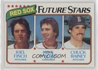 Joel Finch, Mike O'Berry, Chuck Rainey