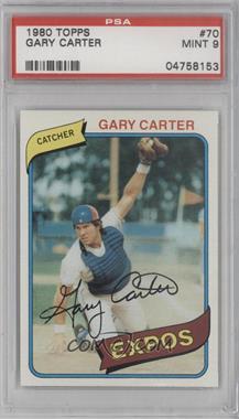1980 Topps - [Base] #70 - Gary Carter [PSA9MINT]